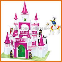 Конструктор Sluban Розовая мечта: Замок мечты, 508 деталей арт. M38-B0151