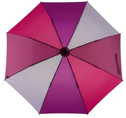Стильный механический зонт-трость с большим куполом EuroSCHIRM teleScope Handsfree 1H16-CW2/SU17681 фиолетовый