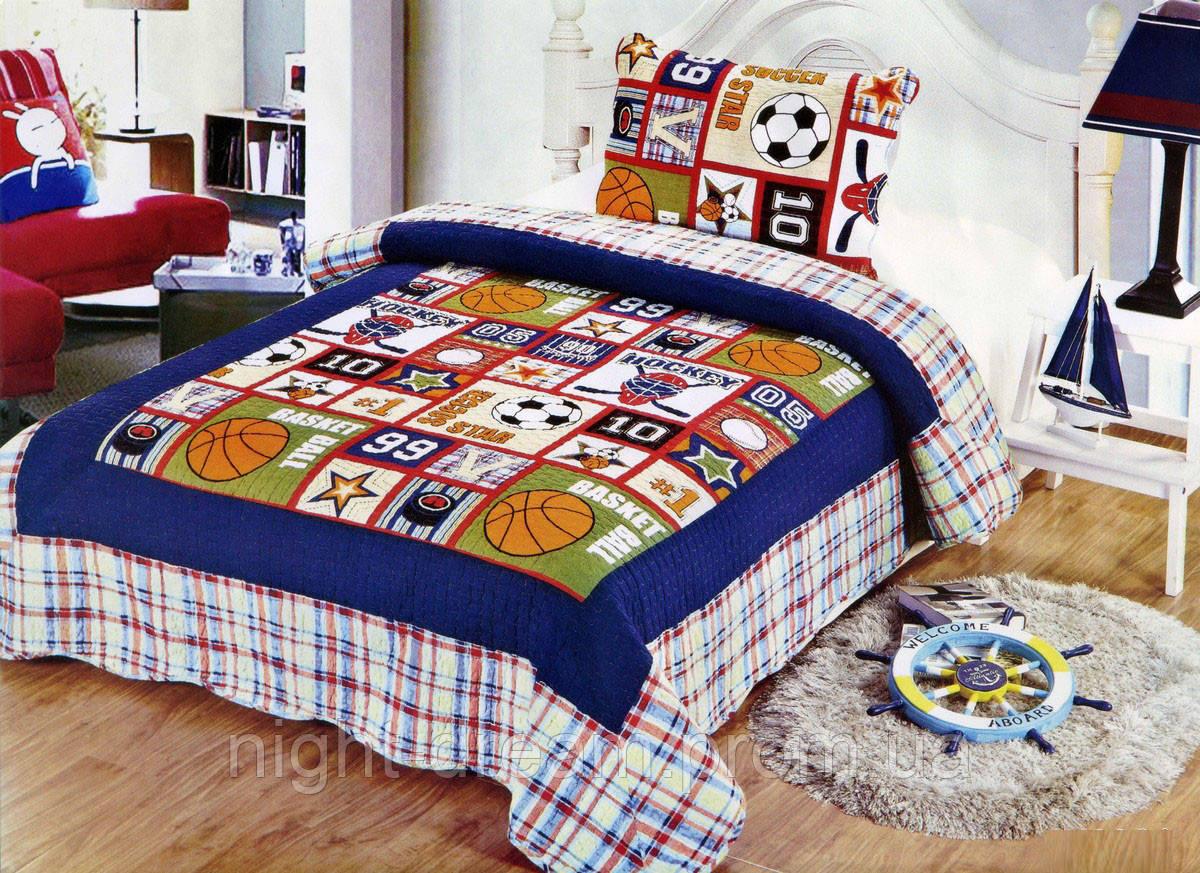 Подростковое покрывало на кровать JY-2001 GoldenTex