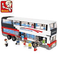 Конструктор Sluban М38-В0335 Двухэтажный автобус, 741 дет.
