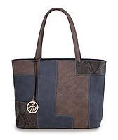 Молодежная сумка-шоппер. Стильная и красивая сумка. Недорогая сумка. Интернет магазин. PU кожа. Код: КЕ304