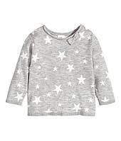 Вязаный свитер для девочки 1,5-2 года