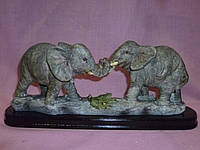 Слоны пара статуэтка фигурка сувенир 28 сантиметр длина