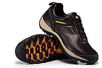 Зимние кроссовки Merrell Faster new кожаные коричневые Оригинал
