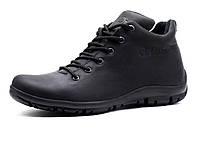 Ботинки мужские на меху Gekon Urban Casual 20BKM зимние черные кожаные, р. 40 41 42 43 44, фото 1