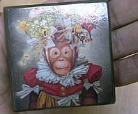 Магниты с обезьянками- символ Нового года от студии LadyStyle.Biz