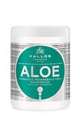 Kallos Увлажняющая маска для восстановления блеска волос с экстрактом алоэ вера Kallos Aloe 1000 мл