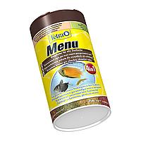 Корм для аквариумных рыб Tetra MENU 100 мл (4 в 1) мелкие хлопья для всех видов декоративных рыб (767386)