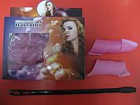 """Самонакручивающиеся бигуди """"Magic Roller Curler"""" - крупный локон, 32 см, 6 шт"""