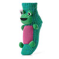 Женские детские носки ATTRACTIVE  3 D игрушка лягушка