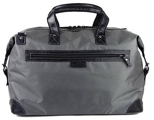 Дорожная сумка-саквояж Tom Stone 35 л. серая, 116GT