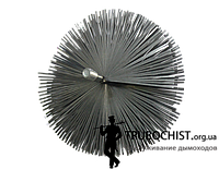 Ершик стальной для чистки дымохода (Под резьбу)