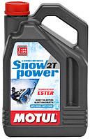 Моторное масло для снегохода MOTUL SNOWPOWER 2T (4L)