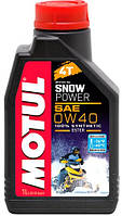 Моторное масло для снегохода MOTUL SNOWPOWER 4T SAE 0W40 (1L)