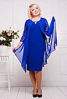 Нарядное женское платье Роза батал