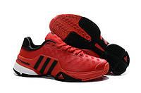 Кроссовки для тенниса Adidas Barricade 9 красные