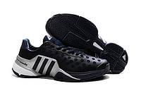 Кроссовки для тенниса Adidas Barricade 9 черные