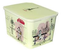 Коробка декоративная для девочек Curver CR-0176-1