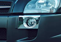 Хром накладки на противотуманки Hyundai Tucson