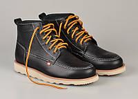 Зимові кеди\взуття Bustagrip - Hi Black Leather (оригінал) (Зимние кеды\ботинки\обувь)