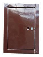 Сажетруска металлическая 17х24см. коричневая