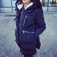 Женская стильная зимняя куртка-парка!ХИТ ПРОДАЖ!