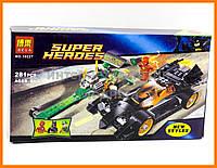 Конструктор аналог LEGO Super Heroes 76012 Bela Преследование Загадочника арт. 10227