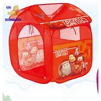 Детская игровая палатка домик Тачки