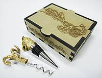Винный набор №3 в подарочном футляре