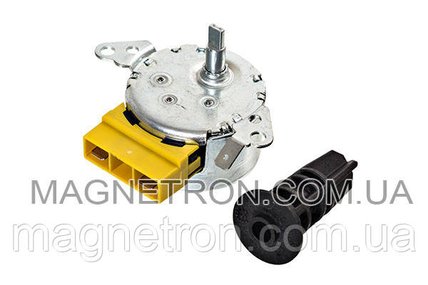 Двигатель + муфта лопатки для фритюрницы Tefal SS-992500, фото 2