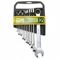 Набор ключей комбинированных, 12 предметов, 6-22 мм НК-1061-12 Alloid