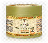 "Натуральная маска для волос ""Яичная. Питательная"" Рецепты бабушки Агафьи RBA /50-81  N"