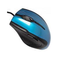 USB проводная оптическая мышка мышь MC-222 Blue