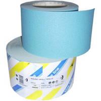 Абразивная бумага SIA (синяя) в рулонах для сухой шлифовки 115мм x 50м, P60
