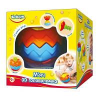 Развивающая игрушка BeBeLino Мяч 3D Головоломка (57027)