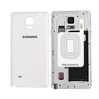 Приемник - ресивер Qi для беспроводной зарядки для телефона Samsung Galaxy Note 4 (Белый)