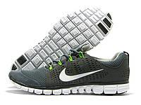 Кроссовки мужские Nike Free Run 3.0 серые (найк фри ран)