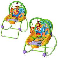 Кресло-качалка для детей - зоопарк от 0 месяцев до 18кг.