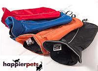 Попона для собаки на флисе оранжевая