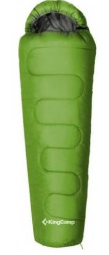 Летний спальный мешок KingCamp KingCamp Treck 125(KS3190) L Green / 9°C, L Green 94894 зеленый