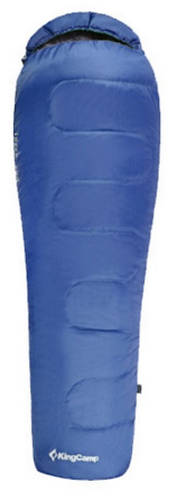 Надежный спальный мешок KingCamp KingCamp Treck 125(KS3190) / 9°C, R Blue 93930 синий