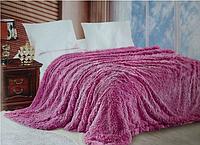 Ворсистое покрывало на кровать двуспальное евро