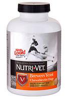 Nutri-Vet Brewers Yeast Витамины для собак с чесноком - 500 таб.