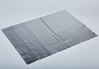 Шумоизоляция, виброизоляция Acoustics Alumat 1,6; Лист 0,350 кв.м. 1,6 мм.