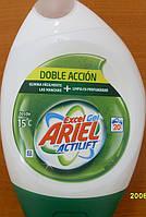 Гель Ariel excelgel actilift 740 мл для белых вещей