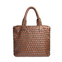 Брендовая женская сумка Chloe Хлое рыжая