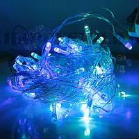 Светодиодная гирлянда новогодняя 100 Led Light Color