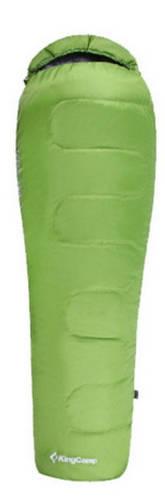 Качественный спальный мешок KingCamp Treck 200(KS3191) 7°C, R Green 93956 зеленый