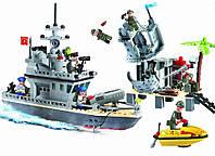 """Конструктор """"Военный корабль"""" Brick 819"""