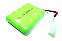 Аккумулятор Ni-Cd для техники и игрушек: напряжением 6 V, ёмкостью 1000 mAh